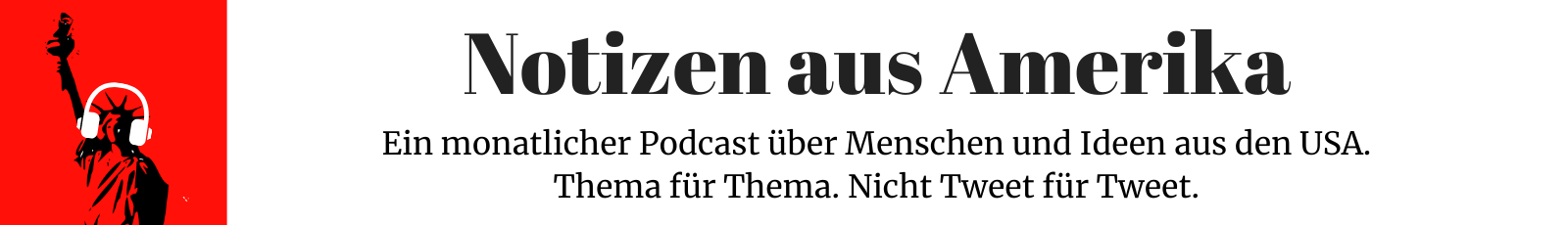 Notizen aus Amerika Podcast