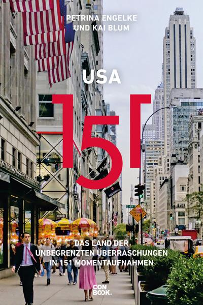 USA 151 Buchcover von Petrina Engelke und Kail Blum